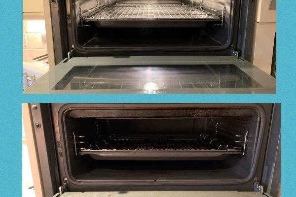 Oven cleaned Essex